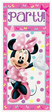 MINNIE MOUSE bow-tique Scene Setter BIRTHDAY party wall or door poster Disney