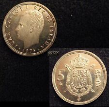 *GUTSE* 5 PESETAS 1975*76, PROOF.