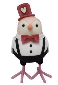 Target Valentines Fabric Bird Valentine's Top Hat Beau Spritz 2020