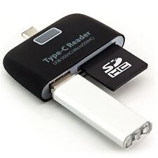 Kartenleser Adapter USB Typ-C SD OTG für Nokia N1 Tablet Samsung Galaxy TabPro S