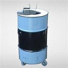 "Catering / Backyard Tandoori Oven - 23"" Diameter, 36"" tall,  preinstalled wheels"
