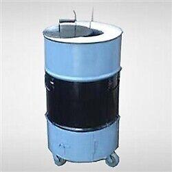 "Catering / Backyard Tandoori Oven - 23"" Diameter, 36"" tall,  preinstalled wheels"