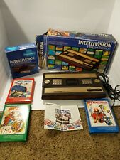 INTELLIVISION GAME CONSOLE Model 2609 IN ORIGINAL BOX, Games & Intellevoice