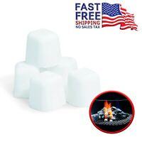 Weber Lighter Grill BBQ Cube Firestarter Fireplace Charcoal Fire Starter Cubes