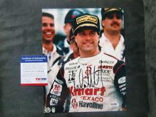 Michael Andretti signed Indy Mario 8x10 photo PSA/DNA