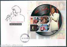 GUYANA ELVIS PRESLEY RECORD   SHEET  I FIRST DAY COVER