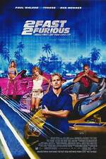2 FAST 2 FURIOUS MOVIE POSTER 2 Sided ORIGINAL INTL 27x40 PAUL WALKER
