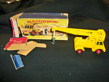 Vintage Matchbox K-14 Taylor Jumbo Crane Toy Mint Box Worn
