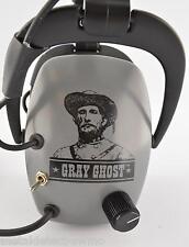 DetectorPro Gray Ghost, Original Metal Detector Headphones.