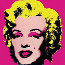 ANDY WARHOL - Marilyn, Pink (Small) - Offset Lithograph ART PRINT 25x25 Poster