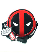 Loungefly x Deadpool Cross Body Purse Marvel Handbag Red Black Xbody New