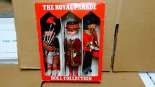THE ROYAL PARADE -BRITISH ROYAL GUARD SOUVENIR DOLL COLLECTION NIB