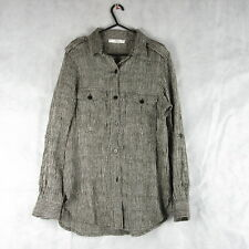 Stunning! Mango Stylish Casual Striped Shirt Size M EUR Work Party Outfit