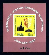 POLAND - POLONIA - BF - 1963 - 13° campionato europeo di basket maschile