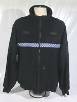 Ex Police Tornado Fleece With Chequered Reflective Strip Security