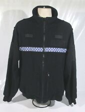 Ex Police Tornado Fleece With Chequered Reflective Strip Security Grade 1