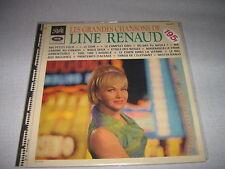 LINE RENAUD 33 TOURS FRANCE LES GRANDES CHANSONS DE LR