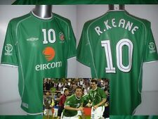 Ireland Shirt Jersey Umbro Adult Large Vintage Robbie Keane Football Soccer Eire