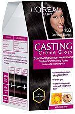 Loreal Paris Casting Cream Gloss Hair Color(Darkest Brown - 300) fs