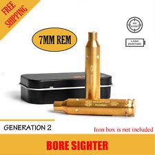 Xhunter Laser Bore Sighter 7mm Rem Rifle Shooting Cartridge Red Dot Boresighter