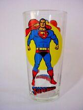 Vintage 1976 Superman Pepsi Super Series Collector Glass - DC Comics