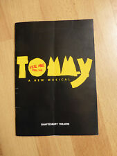 TOMMY a new Musical - Shaftesbury Theatre (1996) Programmheft