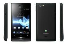 Sony Xperia Miro ST23i - 4GB - Black (Unlocked) Smartphone - Grade A
