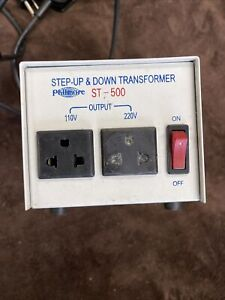 Philmore Step Up And Down Transformer 110v Output St500