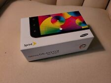 Samsung Galaxy S II Epic 4G Touch - Sprint  OEM Phone Box with Manual