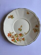 Alfred Meakin 22cm Cream Plate with Orange/Red/Yellow/Green Autumnal Leaves