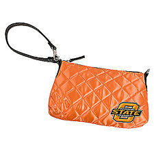 Oklahoma State Cowboys Quilted Wristlet Purse