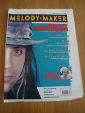 MELODY MAKER 1989 MAY 20 NEPHILIM DAVID BOWIE ELVIS COSTELLO PIL JOHN LYDON