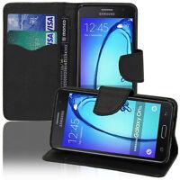 Schutz Hülle für Samsung Galaxy On5 G550FY Handy Brieftasche Kunststoff TPU Case