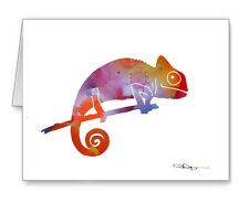 Chameleon Note Cards With Envelopes