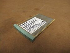 SIEMENS MEMORY CARD SIMATIC S7 6ES7 952-1KK00-0AA0 5V VOLTS 1 MB 16 BIT USED