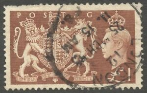 AOP GB Great Britain KGVI King George VI 1951 £1 used SG 512 £18