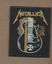 New 2 3/4 X 3 3/8 Inch Metallica Iron On Patch Free Shipping