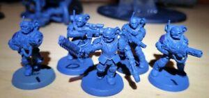 40k Astra Militarum Tempestus Scions Squad (Meltaguns)