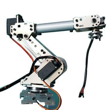 DIY 6 Aluminum Robot Arm 6 Axis Rotating Mechanical Stainless Steel RobotArm Kit