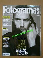 LAST!! FOTOGRAMAS Spanish Magazine - October 2018 - TOM HARDY VENOM EMMA STONE