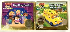 Lot of 2 Fisher Price Little People Gold Edition Sealed CD's Kid's Songs