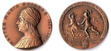 """Medaglia Comm. Matteo Maria Boiardo 1434-1494 XII° Conv.Filat. Numis. """" Citta"""