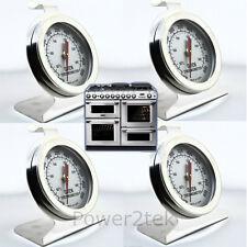 4x SMEG Termometro Forno in Acciaio Inox Temperatura Forno Fornello Agas & rayburns