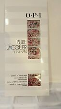 OPI Pure Lacquer Nail Apps / Nail Polish Strips 16 Pre-Cut Strips GIRLY GLAM