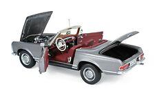 Mercedes 230 SL Pagode 1963 anthrazit met. 1:18 Norev 183498 neu & OVP