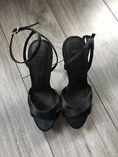ASOS Strappy Black Platform Heels Stiletto UK6