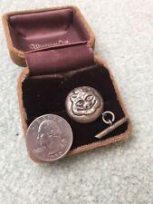 Antique MATTHIASEN 826 Sterling Silver Danish Evil Pig Cufflink - Denmark