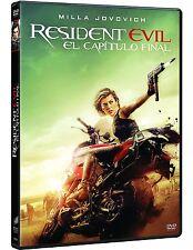 RESIDENT EVIL EL CAPITULO FINAL DVD NUEVO ( SIN ABRIR ) SONY