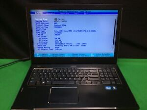 Dell Vostro 3750 Laptop i5 2450M 2.50GHZ 8GB RAM 320GB HDD. No OS.