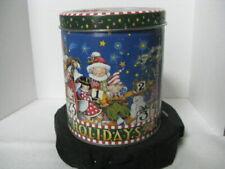 Christmas Round Tin ~ Holiday Countdown  ~ **Gift Idea